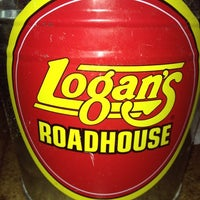 Photo taken at Logan's Roadhouse by Cheryl K. on 5/19/2012