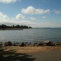 Photo taken at Robert W. Crown Memorial State Beach by Joshua P. on 7/16/2012