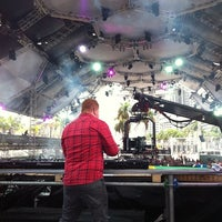 Photo taken at Ultra Music Festival XIV 2012 by Karl D. on 3/29/2012