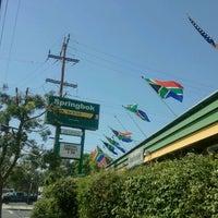 Photo taken at Springbok Bar & Grill by Diedmar V. on 3/11/2012
