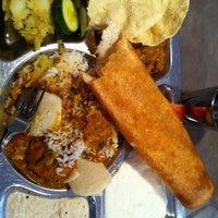 Photo taken at Saravanaa Bhavan by Amrit Pal S. on 4/30/2012
