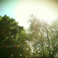 Photo taken at Cafe Mondo by Sarah S. on 8/23/2012