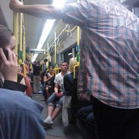 Photo taken at M10 Party Tram by Martin J. on 7/1/2012