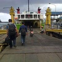 Photo taken at Pelabuhan Padang Bai by Nikki Y. on 7/17/2012