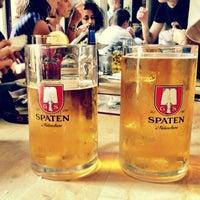 Photo taken at Loreley Restaurant & Biergarten by Oliver C. on 6/28/2012
