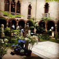 Photo taken at Isabella Stewart Gardner Museum by Mira B. on 6/19/2012