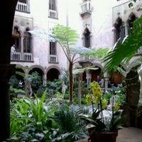 Photo taken at Isabella Stewart Gardner Museum by Susana R. on 2/20/2012
