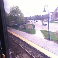 Photo taken at Metra - Glenview by Ted J. on 3/27/2012