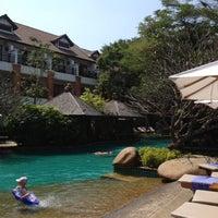 "Photo taken at Woodlands Hotel & Resort by SupaRak_c""h@mp d. on 2/11/2012"