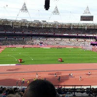 Photo taken at London Stadium by Paul P. on 9/6/2012