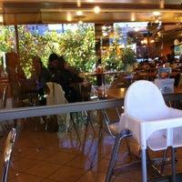 Photo taken at Fuente Alemana by Rodrigo M. on 4/21/2012