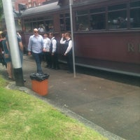 Photo taken at Tram Stop 14 (48/75) by Janine I. on 3/18/2012