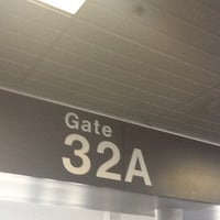 Photo taken at Gate 32A by Yann L. on 5/30/2012