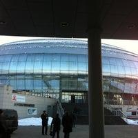 Das Foto wurde bei Дворец спорта «Динамо» von Mark L. am 3/23/2012 aufgenommen