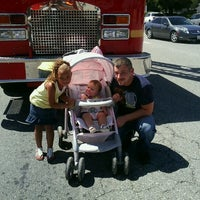 Photo taken at Los Angeles County Fire Station 129 by Tricia K. on 5/12/2012