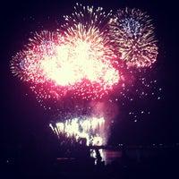 Photo taken at English Bay Beach by georgiana on 7/29/2012