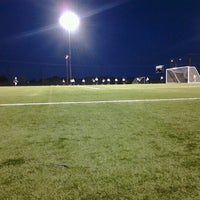 Photo taken at Overland Park Soccer Complex by Mary T. on 8/11/2012