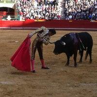Foto tomada en Plaça de Bous de València | Plaza de Toros de Valencia por Nuria F. el 3/19/2012