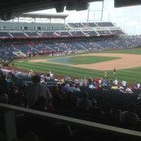 Photo taken at Allstate College World Series Fan Zone by Bruce C. on 6/17/2012