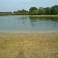 Photo taken at James Island County Park Dog Park by Melanie A. on 4/1/2012