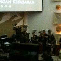 Photo taken at GKI Kebayoran Baru by YulTob on 8/12/2012