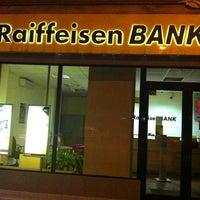 Photo taken at Raiffeisen Bank by Mihai B. on 4/23/2012