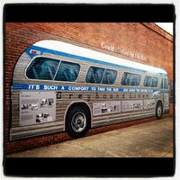 Photo taken at Freedom Riders Bus by Becca @GritsGal on 3/11/2012