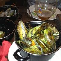 Photo taken at Leuven Belgian Beer Cafe by Rey C. on 3/11/2012