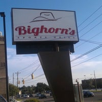 Photo taken at Bighorn's Sports Grill by Aaron M. on 8/26/2012