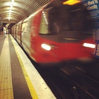 Photo taken at Old Street London Underground Station by Jean-Louis L. on 6/27/2012
