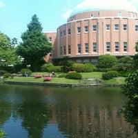 Photo taken at Kyu-Yasuda Garden by zalsun s. on 5/28/2012