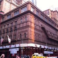 Photo taken at Carnegie Hall (Stern Auditorium/Perelman Stage) by Jeffrey Z. on 6/28/2012