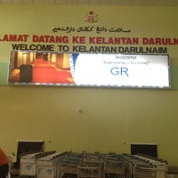 Photo taken at Sultan Ismail Petra Airport (KBR) by Azeman A. on 9/7/2012