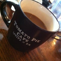 Photo taken at Tomato Pie Cafe by Edward H. on 7/12/2012