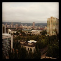 Photo taken at DoubleTree by Hilton Hotel Portland by Craig C. on 8/18/2012