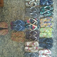 Photo taken at Havaianas by Amy H. on 8/20/2012