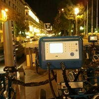 Photo taken at Vélo Bleu (Station No. 19) by Iarla B. on 3/9/2012