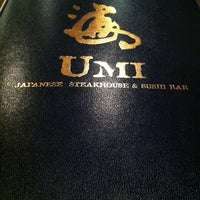 Photo taken at Umi Japanese Steak House & Sushi Bar by Josh H. on 4/19/2012