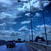 Photo taken at Ratchaphruek Circle by Kwanchanok H. on 6/11/2012