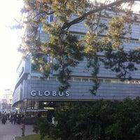Photo taken at GLOBUS by Falk L. on 3/9/2012