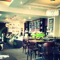Photo taken at Кофеин by Irina i. on 4/23/2012