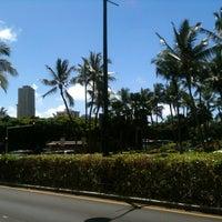 Photo taken at Waikiki Trolley by Tami M. on 4/30/2012