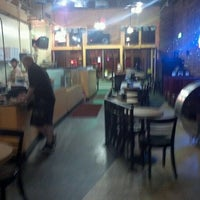 Photo taken at Old Manhattan Pizza by Brad H. on 6/18/2012