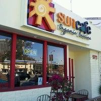 Photo taken at SunCafe Organic by Satoshi H. on 3/22/2012