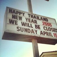 Photo taken at Thai 360 by Jonas W. on 4/14/2012