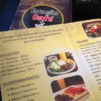 Photo taken at Estação Café by Natália on 7/7/2012