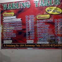 Photo taken at Warung takur by Imam S. on 7/18/2012