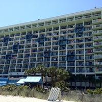 Photo taken at Coral Beach Resort by @LorenzoAgustin ☆ on 6/28/2012