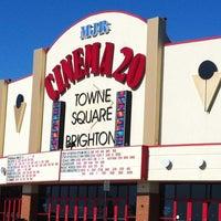 Photo taken at MJR Brighton Towne Square Digital Cinema 20 by Jon W. on 7/29/2012