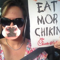 Photo taken at Chick-fil-A 82nd & Milwaukee by Karin S. on 7/14/2012